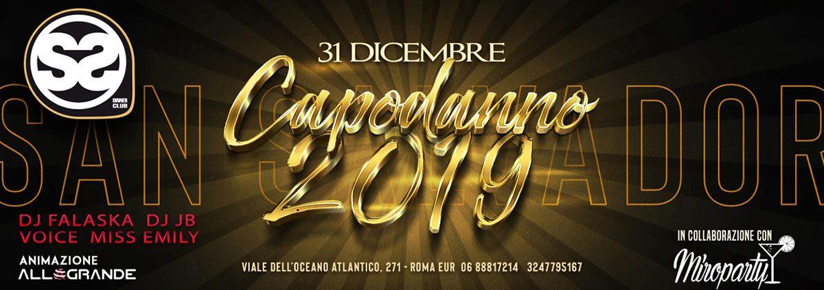 San Salvador Capodanno 2019